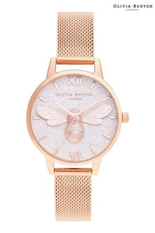 Olivia Burton Lucky Bee Mesh Watch
