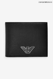 Emporio Armani Black Bifold Wallet