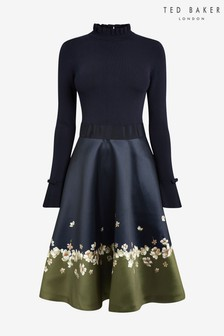 Blue Dresses Navy Blue Denim Amp Navy Shirt Dresses Next Uk