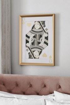 Queen Framed Art