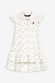 Spot Polo Dress (3mths-7yrs)