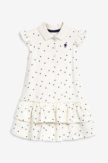 Spot Polo Dress (3mths-7yrs)