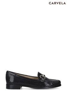 Carvela Comfort Black Click Flats