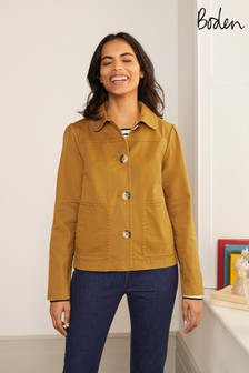 Boden Blue Pocket Detail Jacket