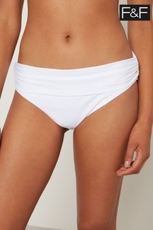 F&F White Fold Over Briefs