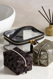 Set of 3 Chic Make Up Bags