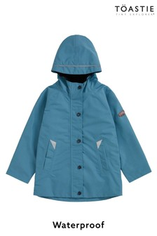 Töastie® Kids Rain Blue Waterproof Raincoat