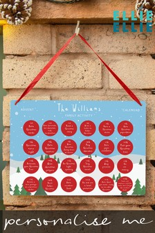 Personalised Family Activity Advent Calendar by Ellie Ellie