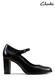 Clarks Black Kaylin Alba Shoes