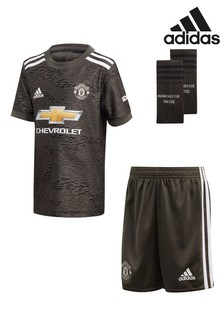 adidas Manchester United Away 20/21 Mini Kit
