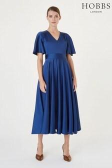 Hobbs Blue Angelina Dress