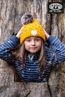 Animal Golden Glow Yellow Gretel Knitted Beanie Hat