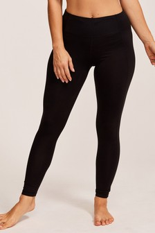 Figleaves Black Rebecca 7/8 Shaping Active Sports Leggings