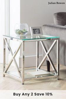 Miami Lamp Table by Julian Bowen