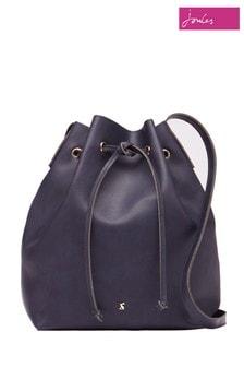Joules Blue Tia Bucket Bag