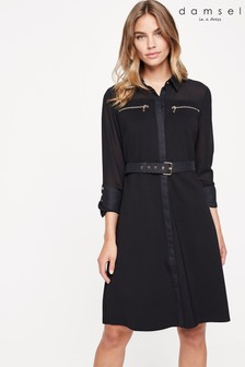 Damsel In A Dress Black Isidore Studded Dress