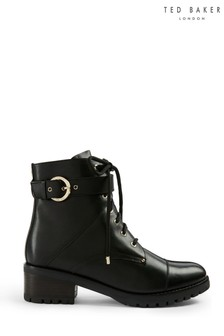Ted Baker Black Hike Ankle Boots