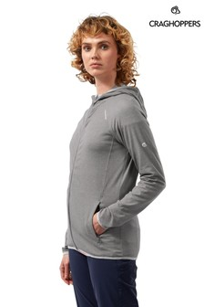 Craghoppers Grey Nl Nilo Hooded Top