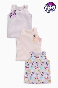 My Little Pony Vests Three Pack (1.5-12yrs)