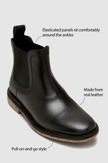 Chelsea Leather Boots (Older)