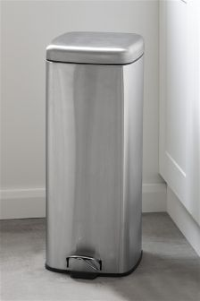 Stainless Steel Square 30L Bin