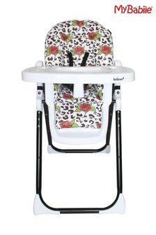Katie Piper Rose Leopard Premium Highchair by My Babiie