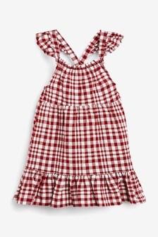 Check Frill Dress (3mths-7yrs)