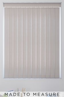 Canvas Tropez Grey Made To Measure Vertical Blind