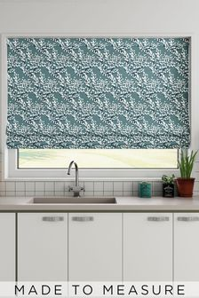 Albion Seafoam Green Made To Measure Roman Blind