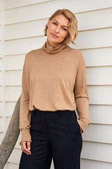 Emma Willis Roll Neck Top