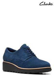 Clarks Blue Sharon Noel Shoes