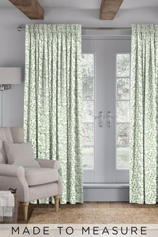 Green Elisa Made To Measure Curtains