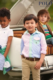 Ralph Lauren Multicoloured Stripe Logo Oxford Shirt