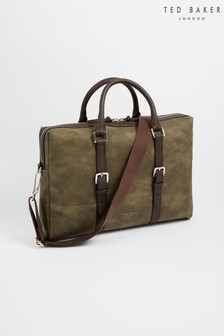 Ted Baker While Nubuck PU Document Bag