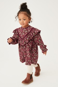 Floral Frill Dress (3mths-7yrs)