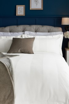 Cotton Waffle 300 Thread Count Collection Luxe Duvet Cover And Pillowcase Set