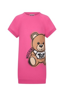 Moschino Kids Girls Cotton Dress