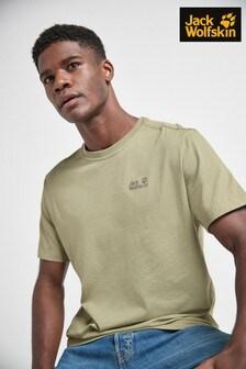 Jack Wolfskin Khaki Essentials T-Shirt