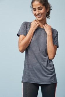 Спортивная футболка с коротким рукавом