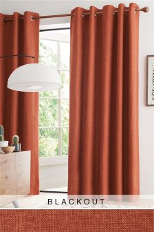 Bouclé Eyelet Blackout/Thermal Curtains