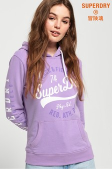 Superdry Track & Field Lightweight Hoody