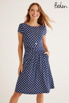 Boden Blue Amelie Jersey Dress