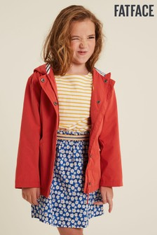 FatFace Red Bonnie Jacket