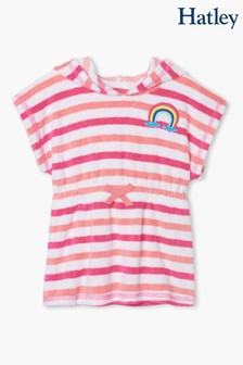 Hatley Pink Over The Rainbow Baby Terry Cover-Up