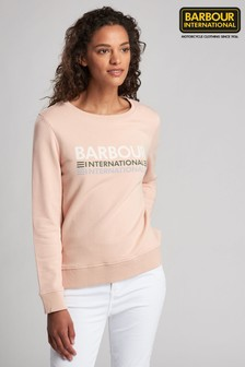Barbour® International Trackrace Logo Sweatshirt