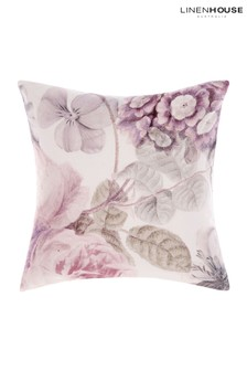 Ellaria Large Floral Cushion by Linen House