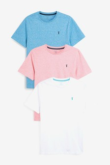 Marl Stag T-Shirts 3 Pack