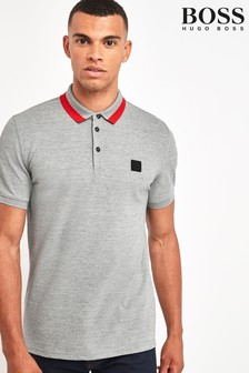 BOSS Grey Pase Poloshirt