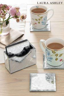 Set of 6 Mirror Josette Coasters