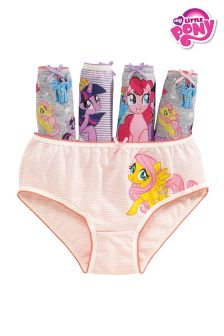 My Little Pony Briefs Five Pack (1.5-12yrs)